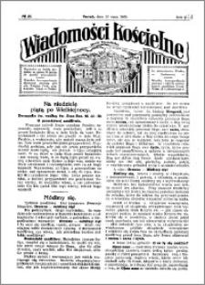 Wiadomości Kościelne : przy kościele Toruń-Mokre 1929-1930, R. 1, nr 26