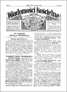 Wiadomości Kościelne : przy kościele Toruń-Mokre 1929-1930, R. 1, nr 27