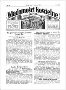 Wiadomości Kościelne : przy kościele Toruń-Mokre 1929-1930, R. 1, nr 28