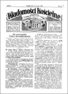 Wiadomości Kościelne : przy kościele Toruń-Mokre 1929-1930, R. 1, nr 29