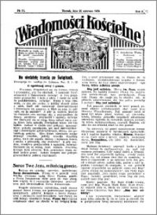 Wiadomości Kościelne : przy kościele Toruń-Mokre 1929-1930, R. 1, nr 31