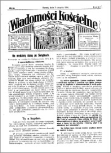 Wiadomości Kościelne : przy kościele Toruń-Mokre 1929-1930, R. 1, nr 36