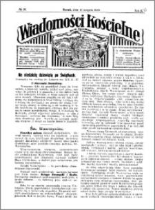 Wiadomości Kościelne : przy kościele Toruń-Mokre 1929-1930, R. 1, nr 37