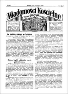 Wiadomości Kościelne : przy kościele Toruń-Mokre 1929-1930, R. 1, nr 38