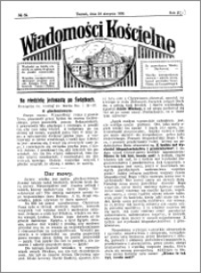 Wiadomości Kościelne : przy kościele Toruń-Mokre 1929-1930, R. 1, nr 39