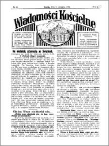 Wiadomości Kościelne : przy kościele Toruń-Mokre 1929-1930, R. 1, nr 42