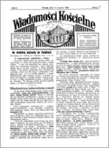 Wiadomości Kościelne : przy kościele Toruń-Mokre 1929-1930, R. 1, nr 43