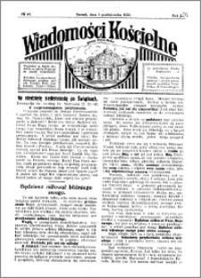 Wiadomości Kościelne : przy kościele Toruń-Mokre 1929-1930, R. 1, nr 45