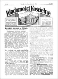 Wiadomości Kościelne : przy kościele Toruń-Mokre 1929-1930, R. 1, nr 46
