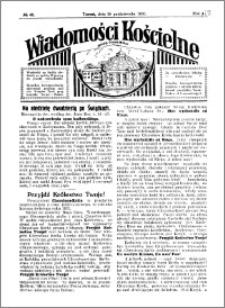 Wiadomości Kościelne : przy kościele Toruń-Mokre 1929-1930, R. 1, nr 48