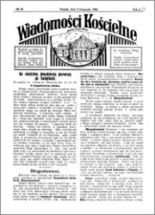 Wiadomości Kościelne : przy kościele Toruń-Mokre 1929-1930, R. 1, nr 49