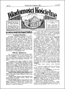 Wiadomości Kościelne : przy kościele Toruń-Mokre 1929-1930, R. 1, nr 50