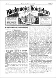 Wiadomości Kościelne : przy kościele Toruń-Mokre 1929-1930, R. 1, nr 51