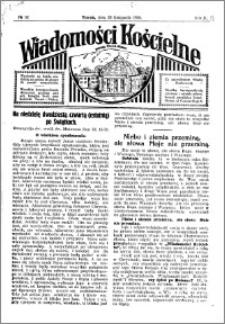 Wiadomości Kościelne : przy kościele Toruń-Mokre 1929-1930, R. 1, nr 52
