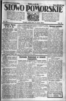 Słowo Pomorskie 1924.03.12 R.4 nr 60