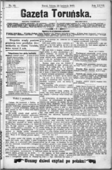 Gazeta Toruńska 1893, R. 27 nr 92