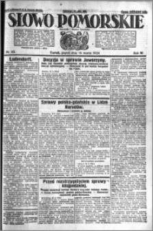Słowo Pomorskie 1924.03.14 R.4 nr 62