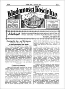 Wiadomości Kościelne : przy kościele Toruń-Mokre 1930-1931, R. 2, nr 19