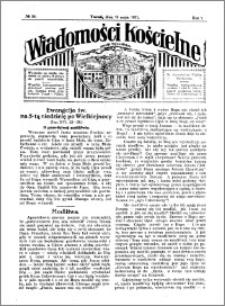Wiadomości Kościelne : przy kościele Toruń-Mokre 1930-1931, R. 2, nr 24