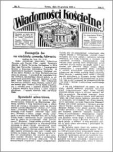 Wiadomości Kościelne : przy kościele Toruń-Mokre 1931-1932, R. 3, nr 4