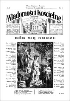 Wiadomości Kościelne : przy kościele Toruń-Mokre 1931-1932, R. 3, nr 5