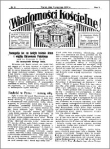 Wiadomości Kościelne : przy kościele Toruń-Mokre 1931-1932, R. 3, nr 6