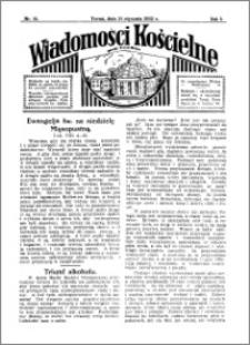 Wiadomości Kościelne : przy kościele Toruń-Mokre 1931-1932, R. 3, nr 10
