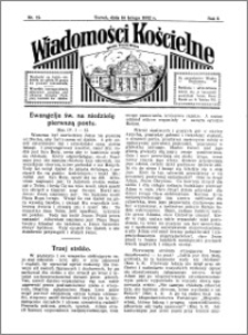 Wiadomości Kościelne : przy kościele Toruń-Mokre 1931-1932, R. 3, nr 12