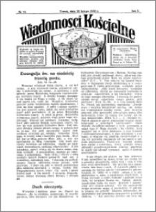 Wiadomości Kościelne : przy kościele Toruń-Mokre 1931-1932, R. 3, nr 14