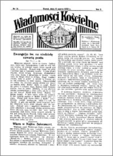 Wiadomości Kościelne : przy kościele Toruń-Mokre 1931-1932, R. 3, nr 15