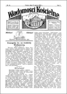 Wiadomości Kościelne : przy kościele Toruń-Mokre 1931-1932, R. 3, nr 18