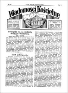 Wiadomości Kościelne : przy kościele Toruń-Mokre 1931-1932, R. 3, nr 20