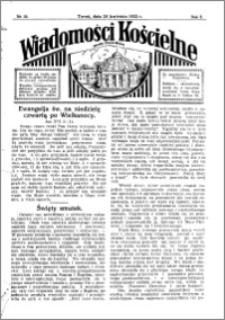 Wiadomości Kościelne : przy kościele Toruń-Mokre 1931-1932, R. 3, nr 22