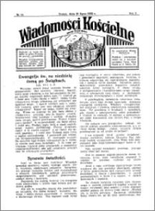 Wiadomości Kościelne : przy kościele Toruń-Mokre 1931-1932, R. 3, nr 33