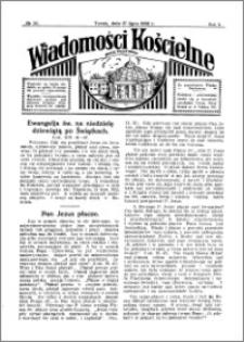 Wiadomości Kościelne : przy kościele Toruń-Mokre 1931-1932, R. 3, nr 34
