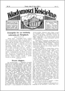 Wiadomości Kościelne : przy kościele Toruń-Mokre 1931-1932, R. 3, nr 36