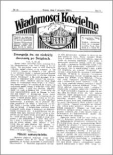 Wiadomości Kościelne : przy kościele Toruń-Mokre 1931-1932, R. 3, nr 37