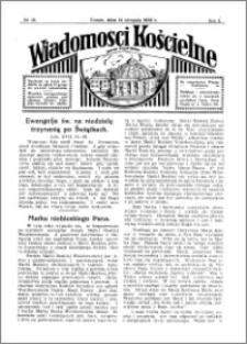 Wiadomości Kościelne : przy kościele Toruń-Mokre 1931-1932, R. 3, nr 38