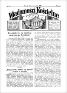 Wiadomości Kościelne : przy kościele Toruń-Mokre 1931-1932, R. 3, nr 41