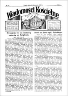 Wiadomości Kościelne : przy kościele Toruń-Mokre 1931-1932, R. 3, nr 52