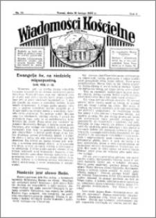 Wiadomości Kościelne : przy kościele Toruń-Mokre 1932-1933, R. 4, nr 13