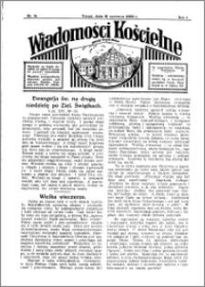 Wiadomości Kościelne : przy kościele Toruń-Mokre 1932-1933, R. 4, nr 30