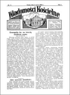 Wiadomości Kościelne : przy kościele Toruń-Mokre 1933-1934, R. 5, nr 14