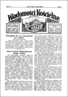 Wiadomości Kościelne : przy kościele Toruń-Mokre 1933-1934, R. 5, nr 26