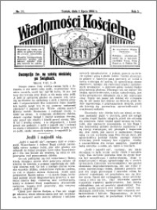 Wiadomości Kościelne : przy kościele Toruń-Mokre 1933-1934, R. 5, nr 31
