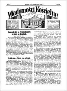 Wiadomości Kościelne : przy kościele Toruń-Mokre 1933-1934, R. 5, nr 51