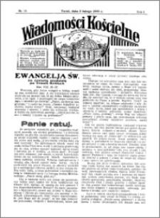 Wiadomości Kościelne : przy kościele Toruń-Mokre 1934-1935, R. 6, nr 10