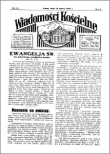 Wiadomości Kościelne : przy kościele Toruń-Mokre 1934-1935, R. 6, nr 15
