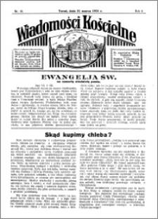 Wiadomości Kościelne : przy kościele Toruń-Mokre 1934-1935, R. 6, nr 18