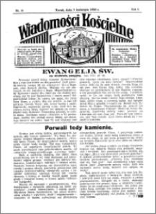 Wiadomości Kościelne : przy kościele Toruń-Mokre 1934-1935, R. 6, nr 19